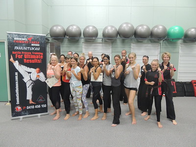 Women's Self Defence Course April 2016