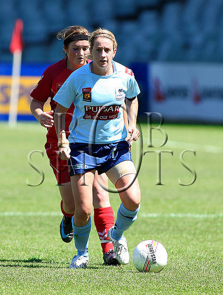 Heather Garriock - Sydney F.C - Action from Westfield W-League Round 5 match between Sydney F.C and Adelaide United played at the Sydney Football Stadium on the 1st November 2009. The match was won by Sydney F.C 6-0 (PHOTO: ROB SHEELEY - SMP IMAGES) These images are intended for editorial use only (e.g. news or commentary print or electronic). Any commercial or promotional use requires additional clearance.