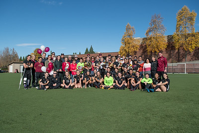Women's Soccer Senior Day