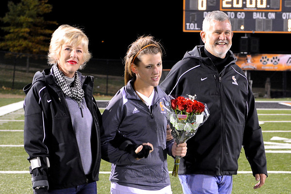 GC vs U Pike 11-2-13 (Senior Night)