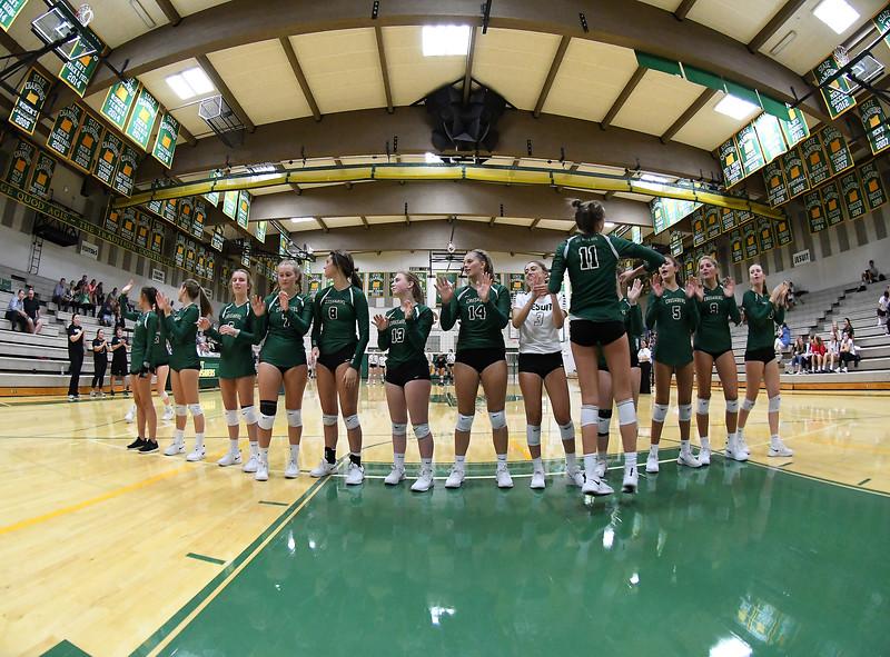 Jesuit Crusaders vs Southridge Skyhawks - Women's Varsity Volleyball