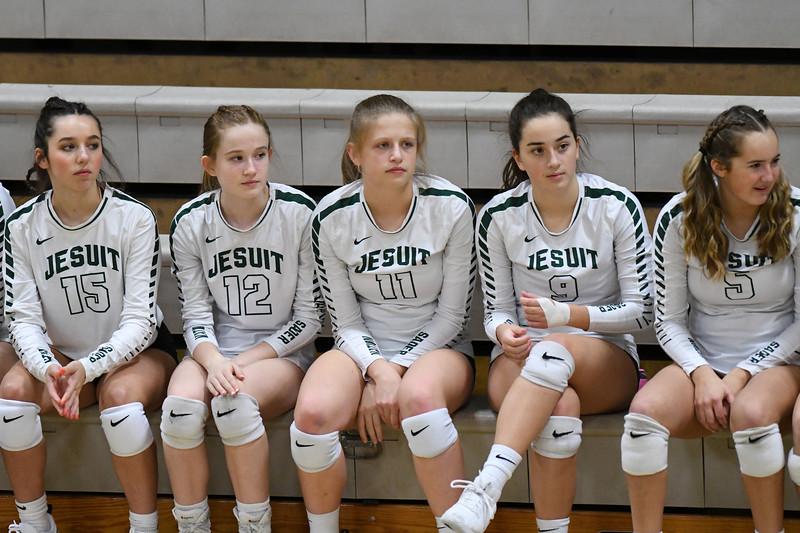 Varsity Volleyball: Jesuit vs. Barlow OSAA Playoff Round 1