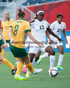Ngozi Okobi, Caitlin Foord