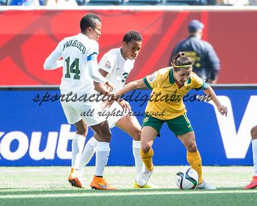 Lisa De Vanna, Evelyn Nwabuoku, Osinachi Ohale