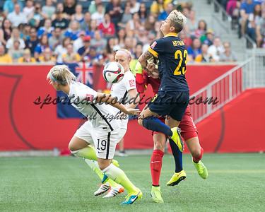 Julie Johnston, Hope Solo, Michelle Heyman