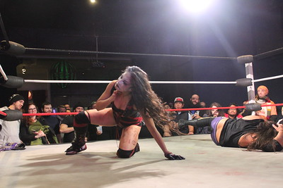 Women's Wrestling Revolution Identity Crisis March 4, 2017 (MAIN EVENT) Su Yung vs. Rachael Ellering