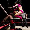 Twisted Sisterz (Thunder Rosa & Holidead) vs. Black & Blue (Belmont & Davienne with Sammi Lane)