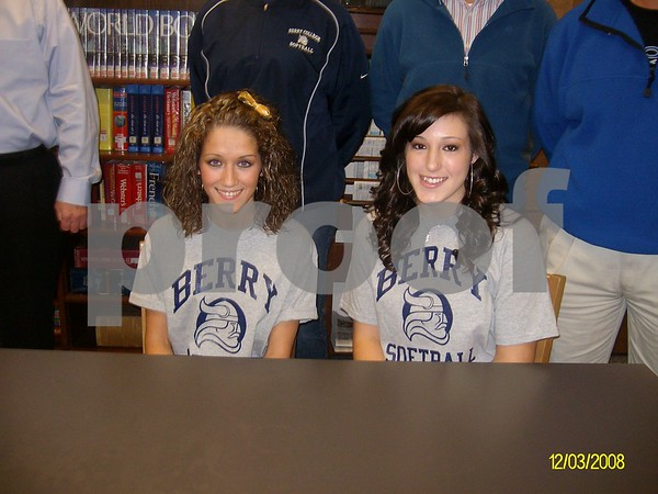 Softball Signings - Feb. 12, 2009