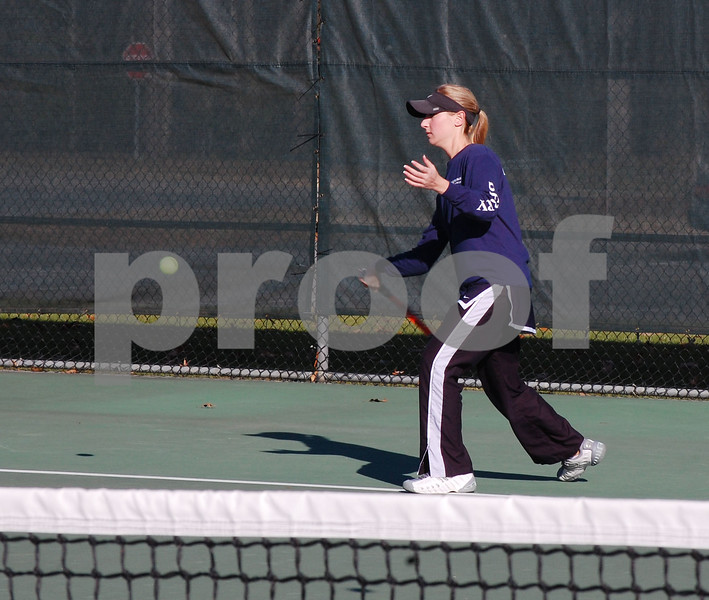 Women's Tennis v. Emmanuel Jan. 31, 2009