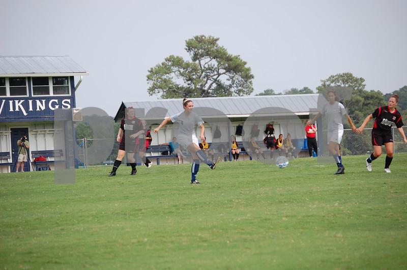 W Soccer Scrimmage 8/29/09 JR
