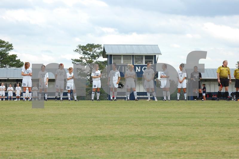 Women's Soccer v. Emory 10-22-09 MM