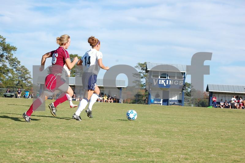Women's Soccer v. Lee 10-28-09 MM