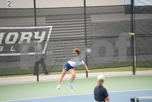 Women's tennis vs. Methodist 3/9/14 NCAA
