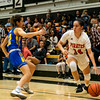 Ventura College Pirates Women's Basketball plays Allan Hancock Bulldogs at VC, Ventura Calif., Wednesday evening, Feb. 19, 2020. (© Kevin Miller 2020)