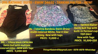 3XL CATALINA SWIMSUITS•SWIM DRESS•SWIMSUIT TOP