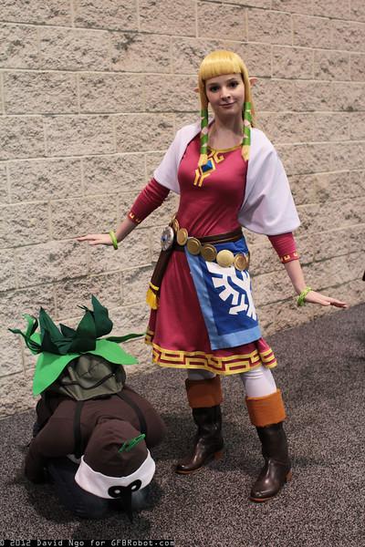 Kikwi and Princess Zelda