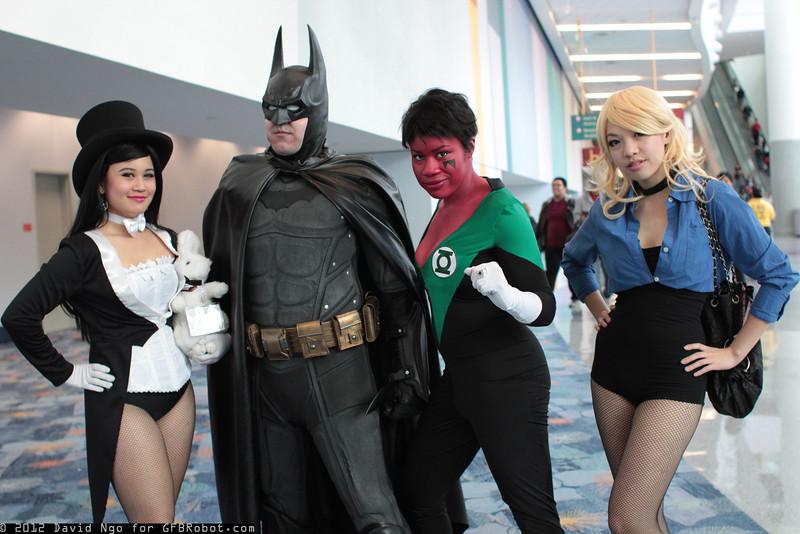 Zatanna, Batman, Soranik Natu, and Black Canary
