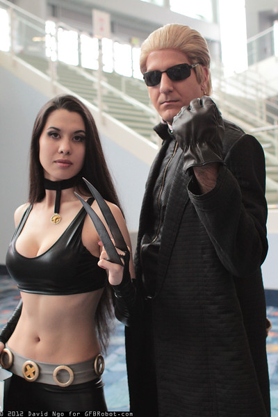 X-23 and Albert Wesker