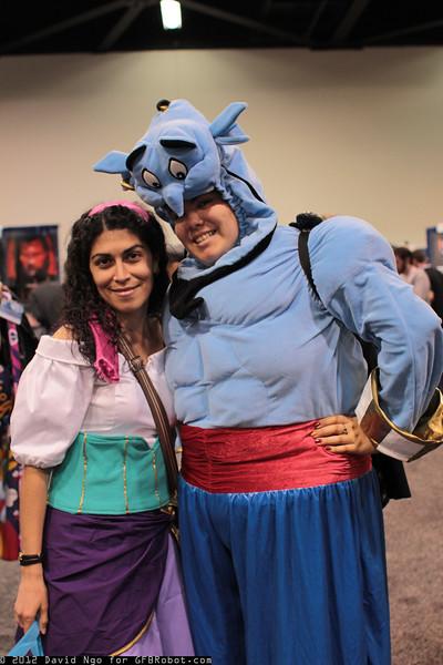 Esmeralda and Genie