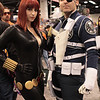 Black Widow and Nick Fury
