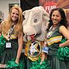 Crowley High School Cheerleaders and Crowley High School Mascot