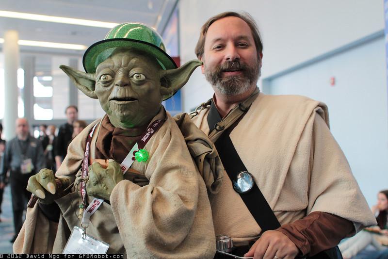 Yoda and Jedi