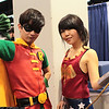 Robin and Wonder Girl