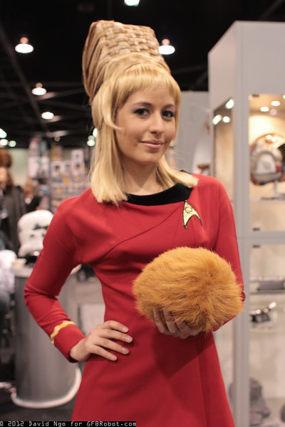 Janice Rand and Tribble