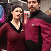 Deanna Troi and William Riker