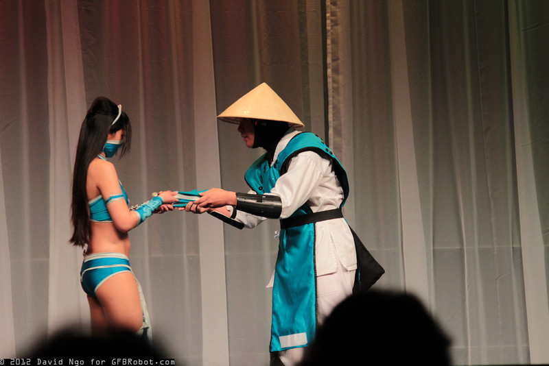 Kitana and Raiden
