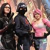 Baroness, Cobra Trooper, and Zarana