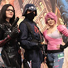 Baroness, Cobra Trooper, and Zarana