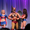 Supergirl, Hawkman, and Wonder Woman