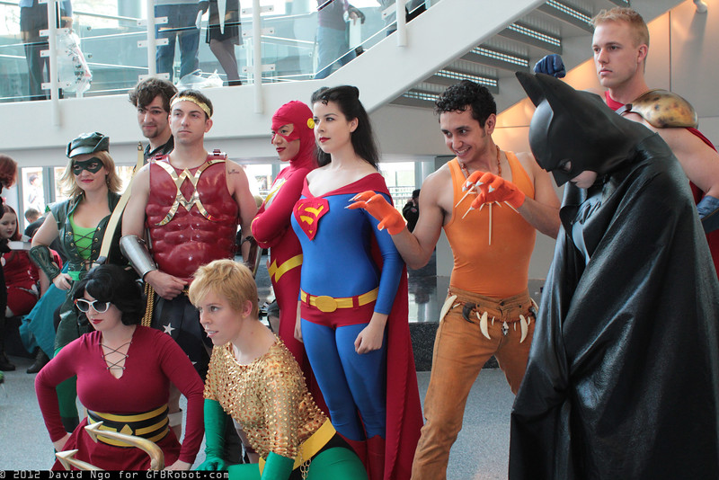 Gender Bent Justice League