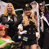 Oracle, Black Canary, Lady Blackhawk, and Huntress