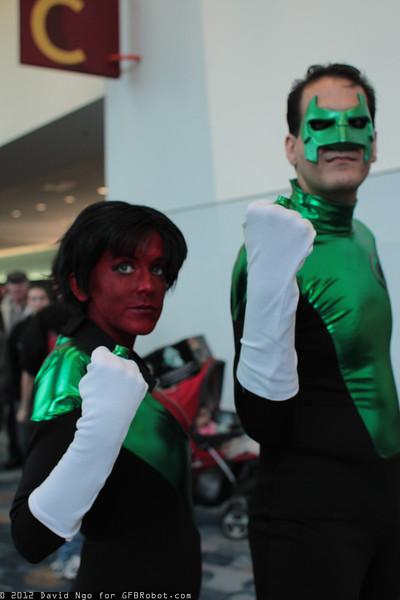 Soranik Natu and Green Lantern