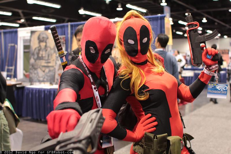 Deadpool and Lady Deadpool