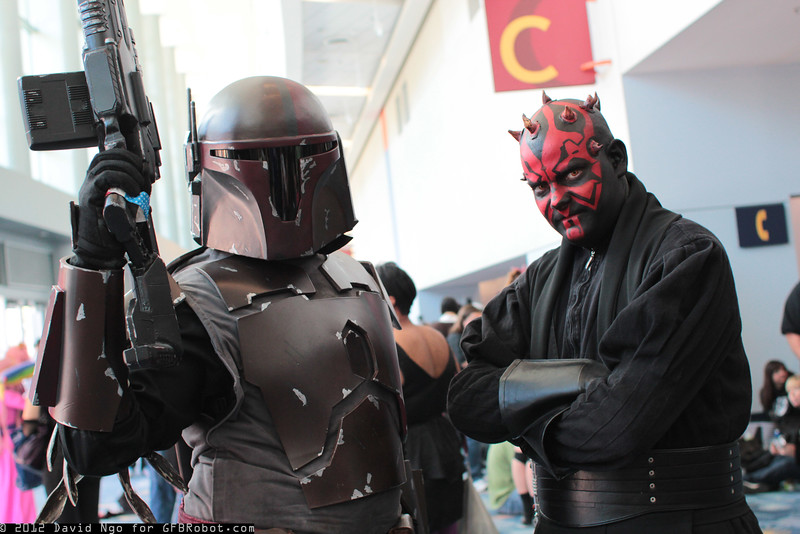 Hujoe Bigs and Darth Maul