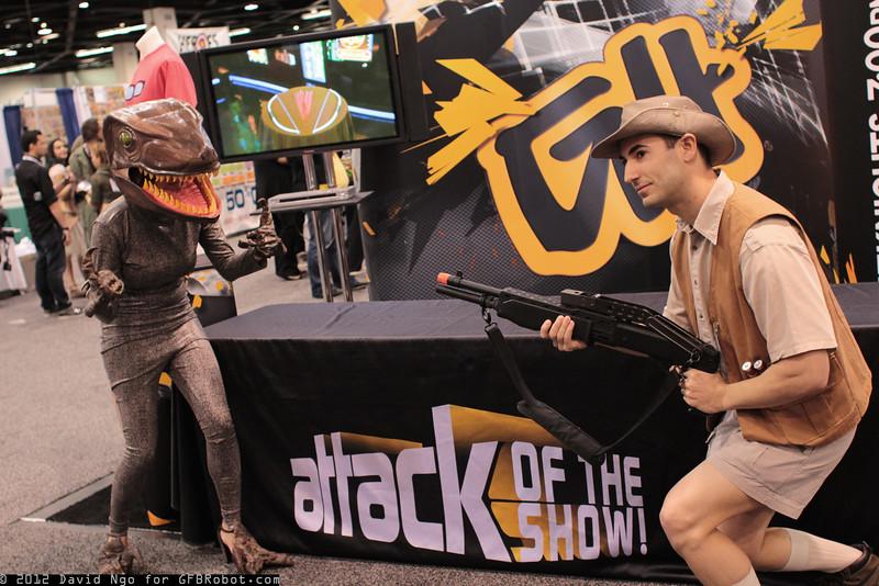 Velociraptor and Robert Muldoon