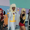 Poison Ivy, Storm, Ms. Marvel, and Rogue