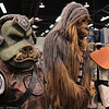 Gamorrean, Chewbacca, and Sandtrooper