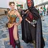 Princess Leia Organa and Darth Maul