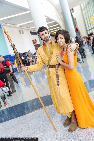Oberyn Martell and Ellaria Sand