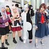 Kyouko Kirigiri, Junko Enoshima, Monokuma, and Touko Fukawa