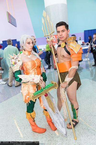 Aquawoman and Aquaman