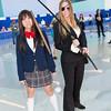 Gogo Yubari and Elle Driver