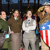 Peggy Carters, Howard Stark, and Captain America