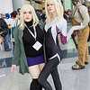 Gwen Stacy and Spider-Woman