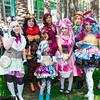 Alistair Wonderland, Bunny Blanc, Lizzie Hearts, Madeline Hatters, Briar Beauty, Helga Crumb, Sparrow Hood, and Cedar Wood