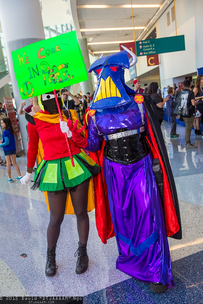 Marvin the Martian and Emperor Zurg